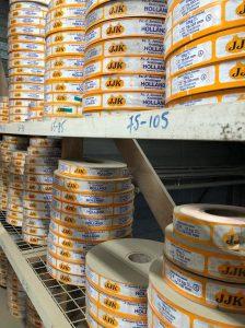 Labels voor uien bij J. Jansen Uienhandel BV Kruiningen
